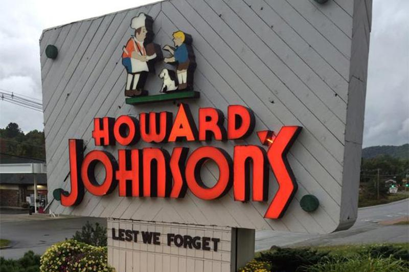 howard johnsons restaurant sign