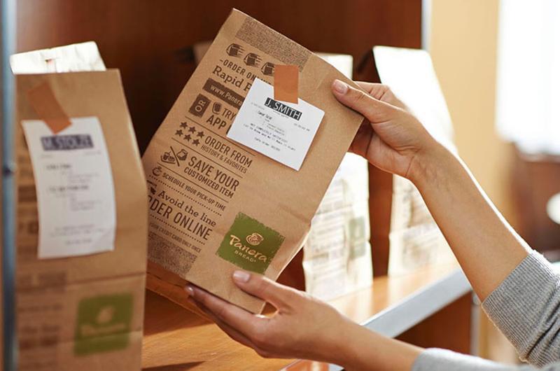 Panera Bread delivery