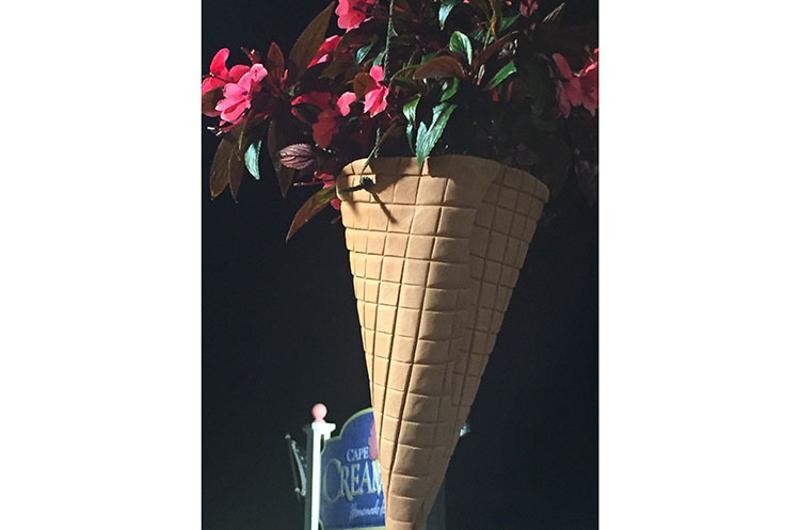 ice cream flowers