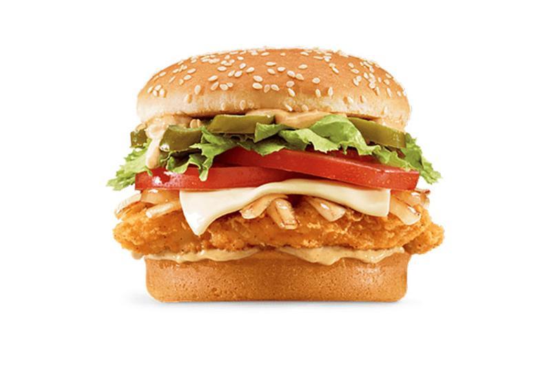 jack box blazin chicken sandwich