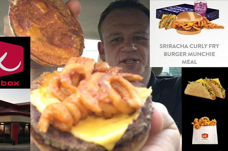 jack in the box sriracha curly fry burger