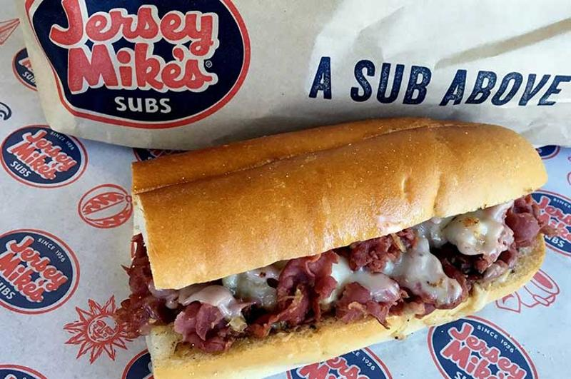 jersey mikes pastrami sandwich