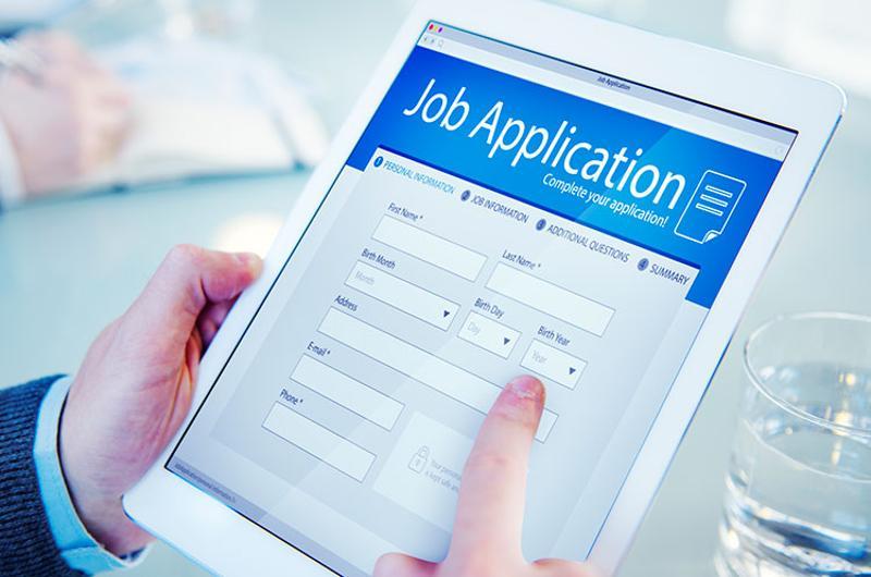 job application tablet