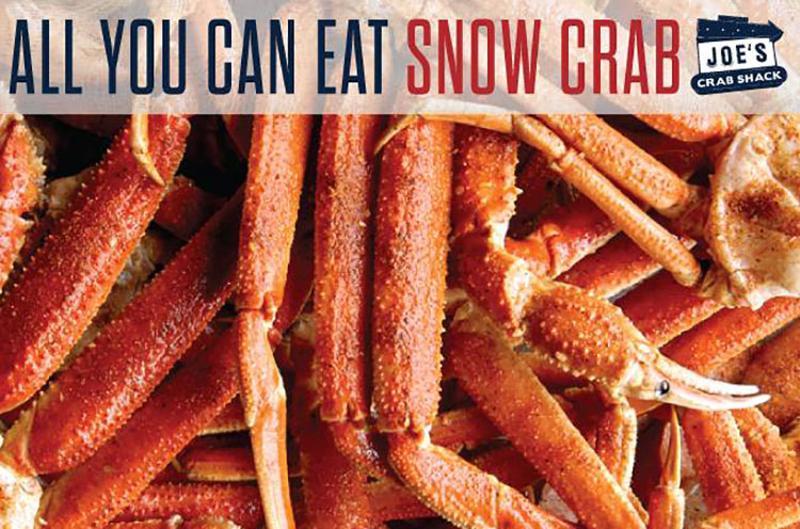 joe's crab shack all you can eat snow crab