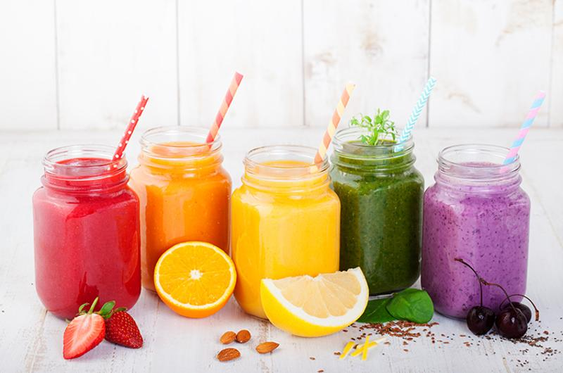 juices smoothies drinks