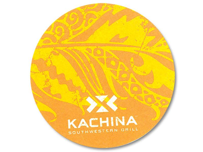 Kachina drink coaster