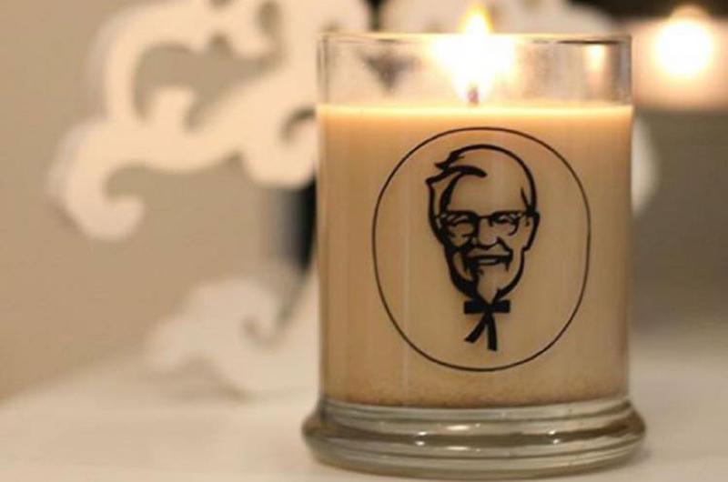 kfc candle