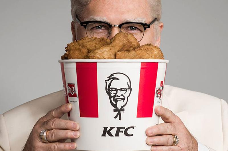 kfc chicken colonel