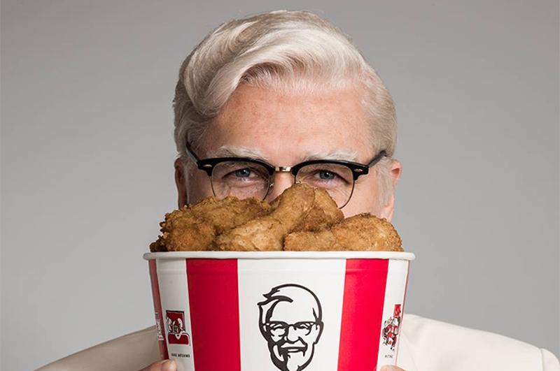 kfc chicken colonel