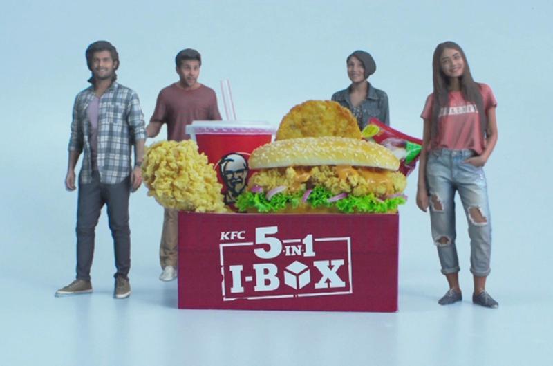 KFC India meal toys via 3D printing