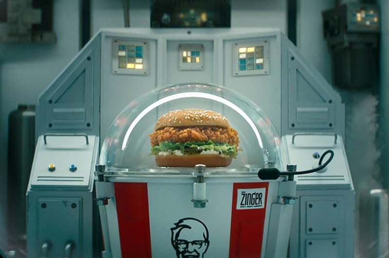 kfc space center sandwich