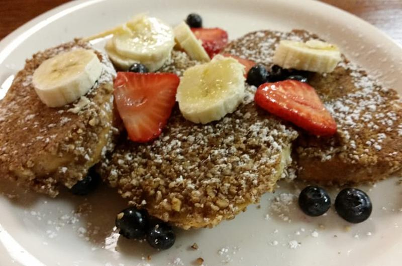 knead cafe french toast
