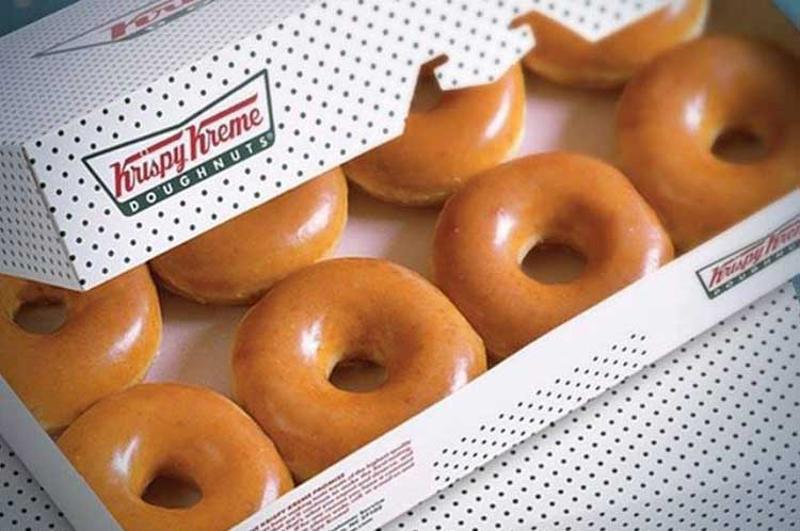 krispy kreme doughnuts box