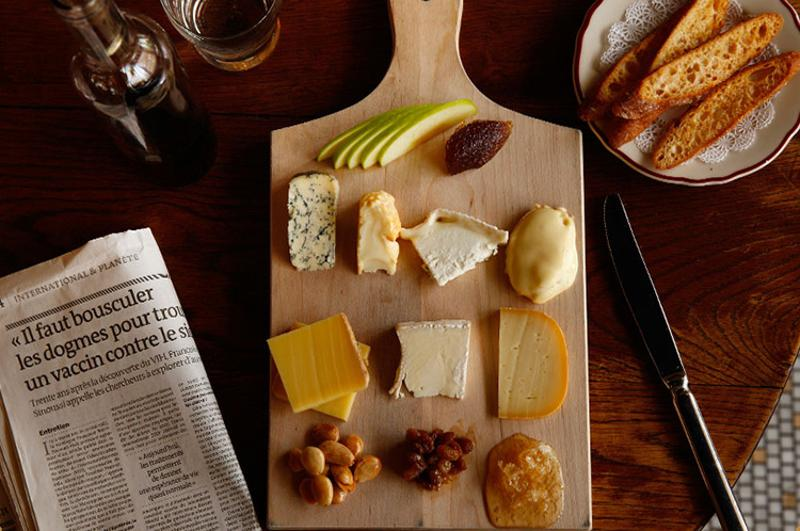 le diplomate cheese plate