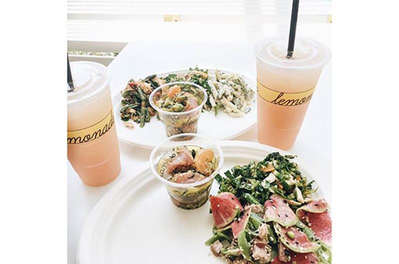 lemonade drinks food