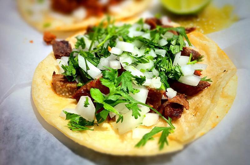 Lengua Taco & Juevos Rancheros