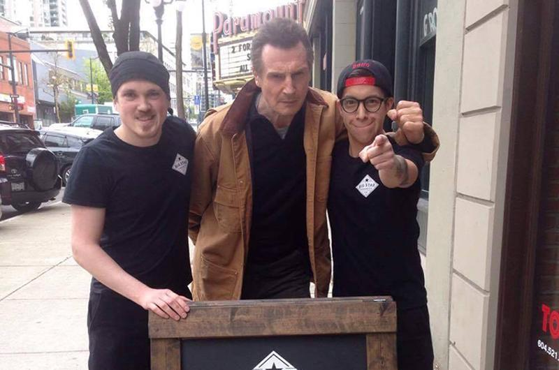 liam neeson big star sandwich