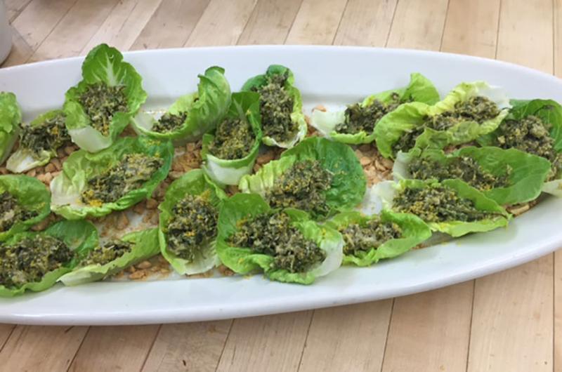 little gem lettuce nachos