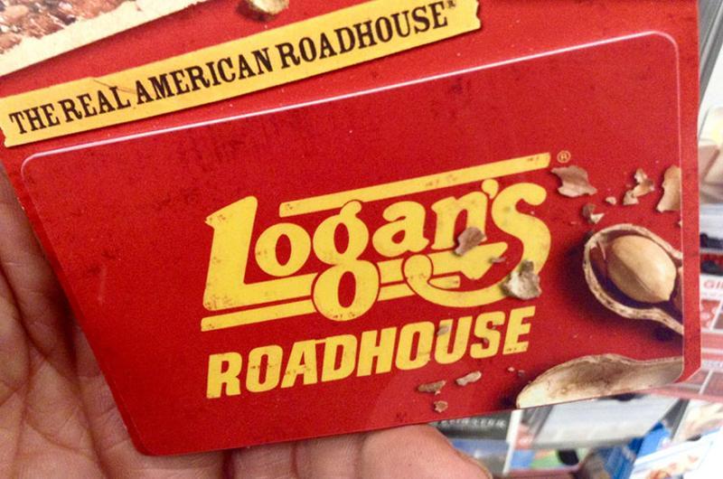 logans roadhouse gift card