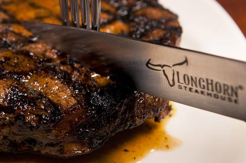 longhorn steak knife