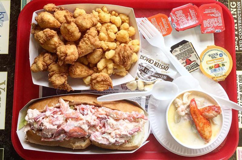 mabel gray food tray