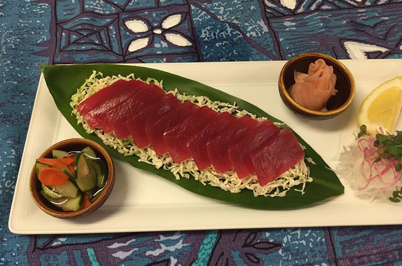 mamas fish house sashimi