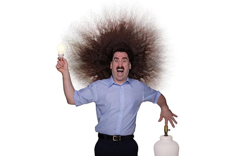 man electrocution