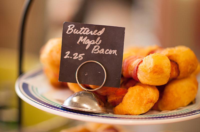 Maple-Bacon Doughnut