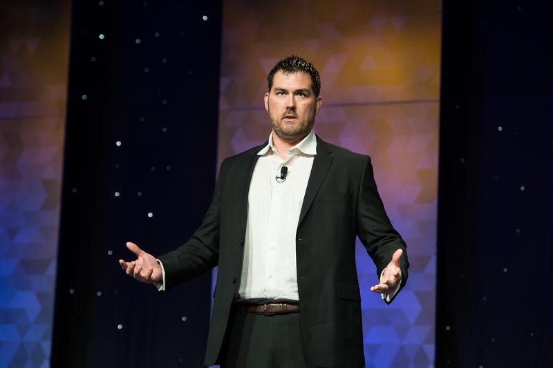Lone Survivor, Marcus Luttrell at Restaurant Leadership Conference, RLC