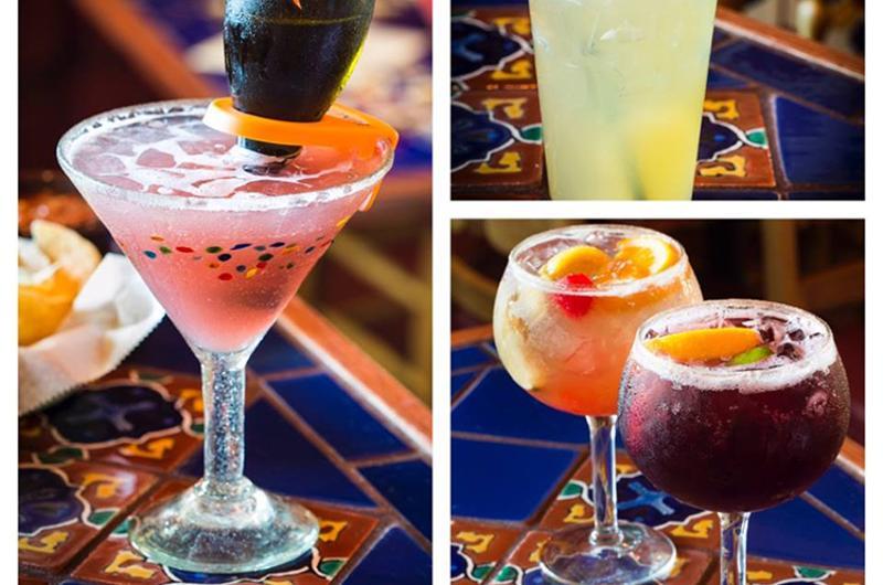margaritas restaurant drinks