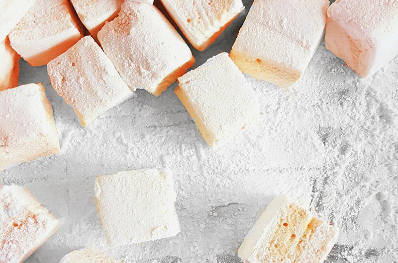 marshmallows counter