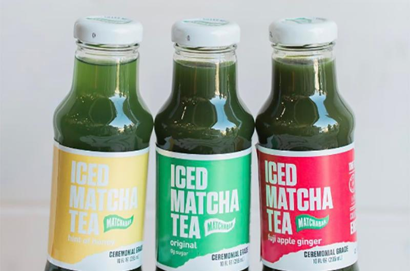 matcha bar tea bottles