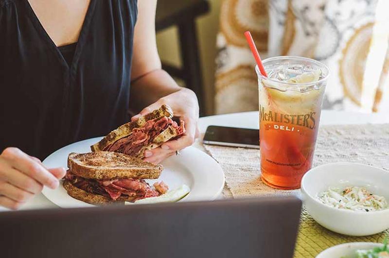 mcalisters deli tea sandwich