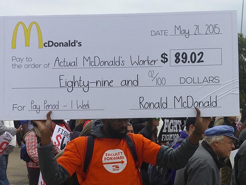 mcdonalds check sign