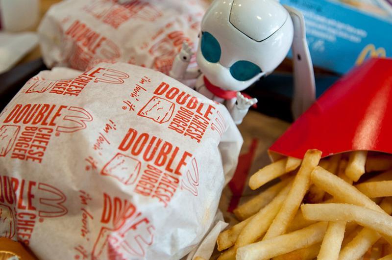 mcdonalds burger meal