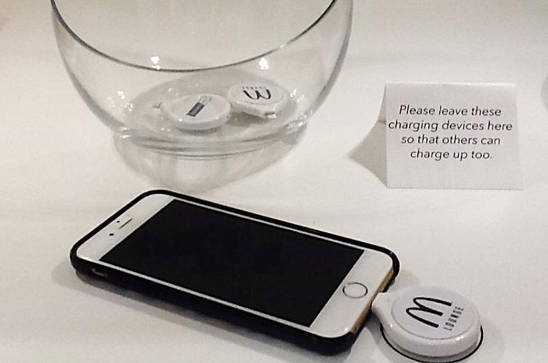 mcdonalds charger