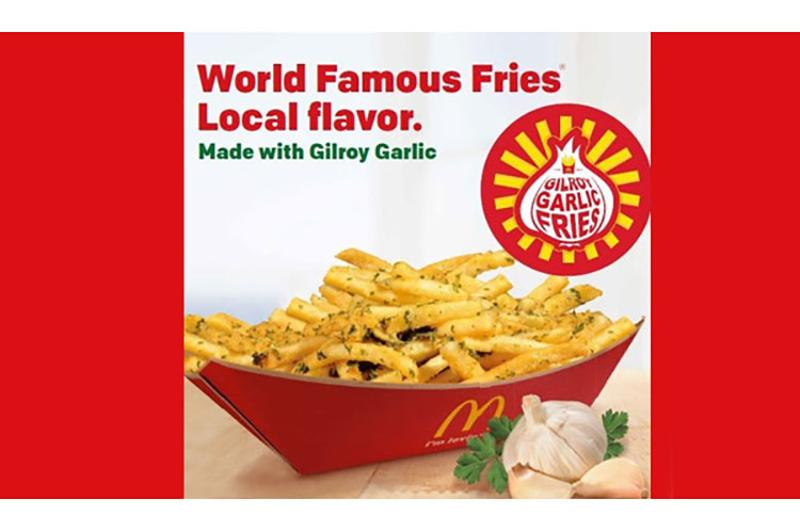 mcdonalds garlic fries