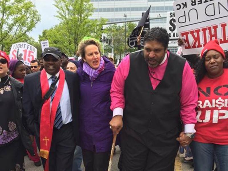 mcdonalds marchers