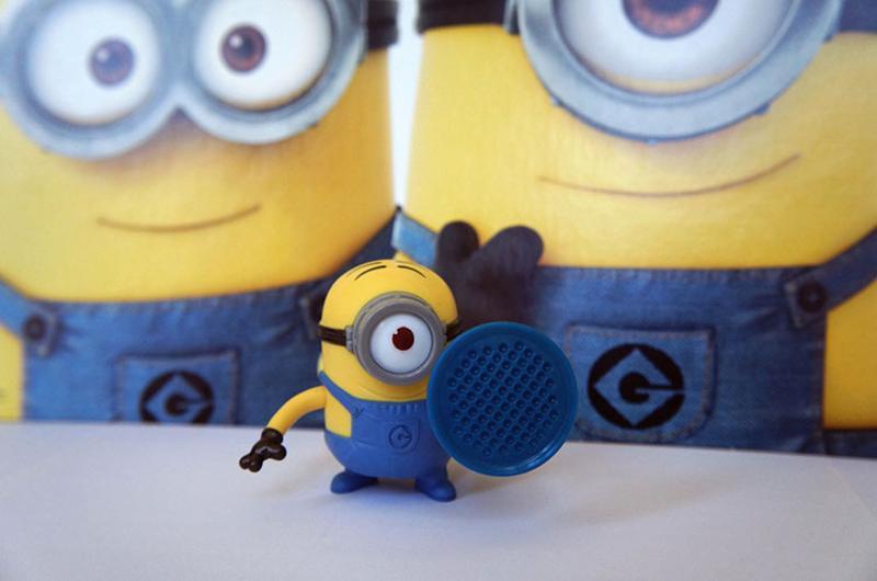 mcdonalds minion toy