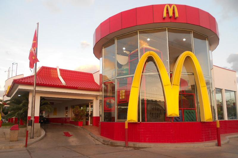 mcdonalds play place exterior