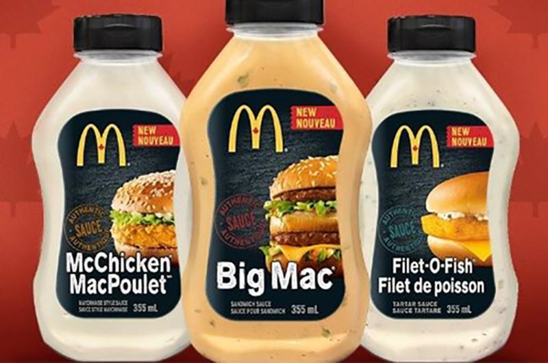 mcdonalds sauces
