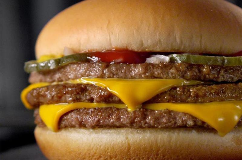 mcdonalds triple cheeseburger