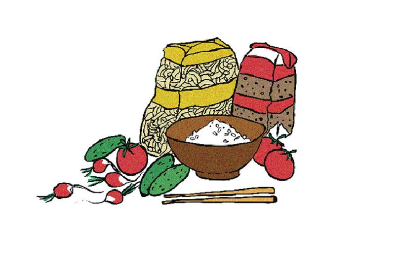 meal ingredients graphic