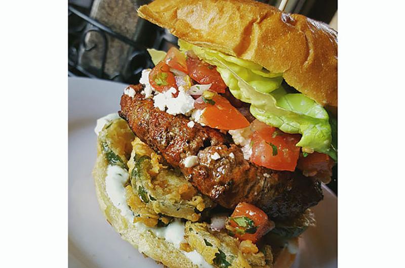 meehans public house chorizo burger