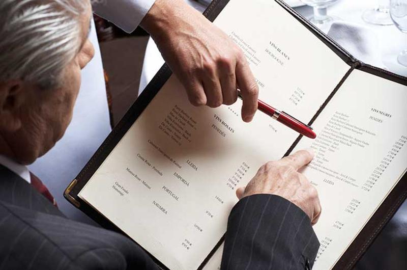 menu order price