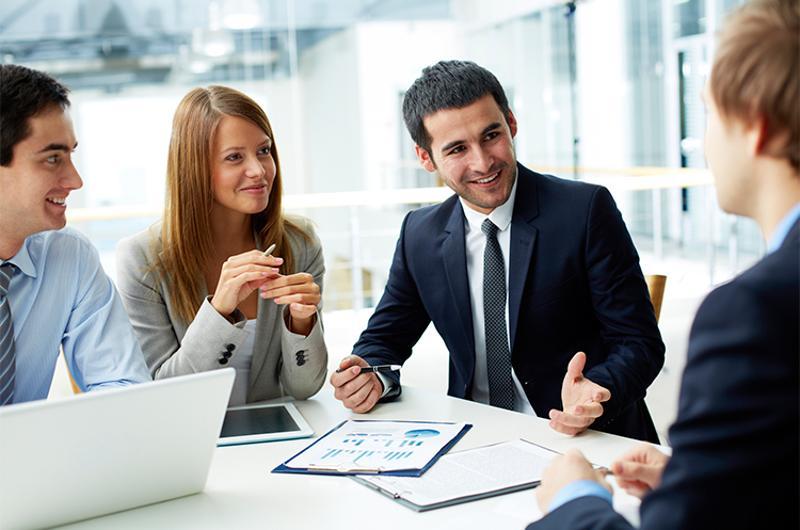 millennials business meeting