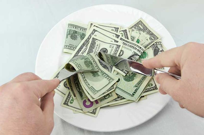 money plate dining