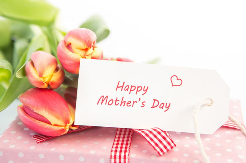 mothers day flowers card