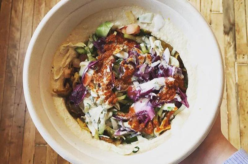 naf naf hummus bowl