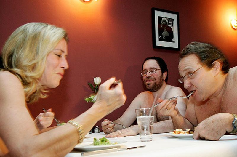 nude restaurant